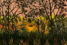Landscape Painting / Inspirations for landscape painting