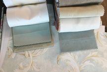 Как делать подборку тканей и обоев
