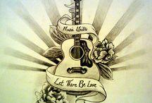 Tattoo Guitar