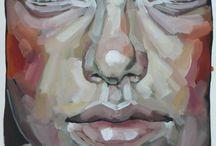 face acryllic