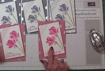 Lotus Blossom / SAB 2015 Stamp Set Stampin' Up