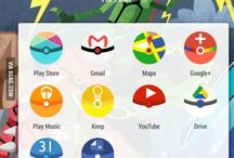 Android Icon Packs / Android icon packs and design, change your icons on your icon phone to some inspiring designs.