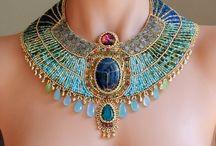 Bright accessories / Unusual jewelry
