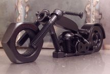 Nut and bolt motorcycle