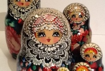 Russian Nesting Dolls / Please re-pin respectfully, not more than 5 re-pins per board per day. Sorry :( / by Jennifer