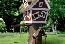 Dream Home - Awesome Tree & Playhouses & Swing Sets / Outdoor play spaces for kids.  Tree-houses, play-houses, swing sets, etc.
