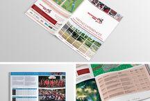 Brochures / Brochure design and print