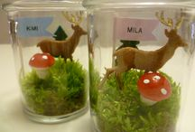 My Blog - Creative DIY ideas! / Cute little desert glasses. Perfect as table decoration!