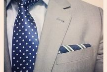 Look book / Create dapper outfits with our look ideas! Know how to pair great ties for the complete look!
