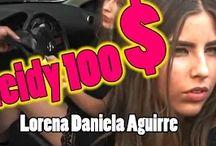 Daniela Aguirre Lady 100 Pesos