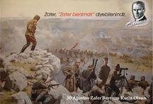 30 Ağustos Zafer Bayramı Kutlu Olsun / Zafer'in 91.yılı kutlu olsun.