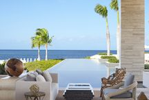 stunning pools / by Ever After Honeymoons