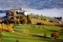 Casentino Valley, Poppi, Tuscany, Italy