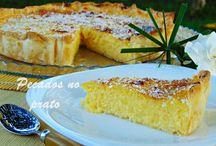 Tartes / Várias receitas de tartes deliciosas