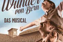 Das Wunder von Bern Musical / Meine gestrickter Beitrag für das Wunder von Bern und alles drumherum