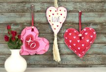 Valentine's Day Craft Ideas / Valentine's Day Project Ideas for everyone.