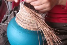 Weaving into Clay