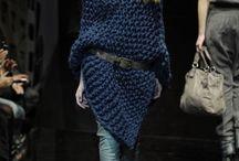 Fashion / Chunky knitwear,