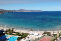 Holiday in Calpe - Costa Blanca / Apartment with 3 bedroom first line to the sea with incredible seaveiws in two different directions for rent.                                             Visit: www.wonderful-calpe.webs.com