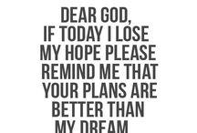 Worry ends when ~FAITH IN GOD~ begins