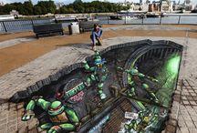 Sidewalk Art/graffiti