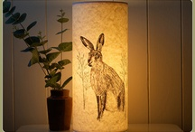 paper lanterns / Each lamp is made from thick parchment paper that light and create a lovely glow