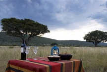 Surprise sundowners on drive / Magic in the bush - image and links to surprise sundowners on drive as offered by lodges