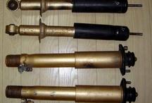 Parts suspension of CR-X