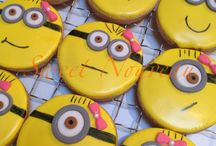 Minions - Cookies, Cake Pops, Cupcakes