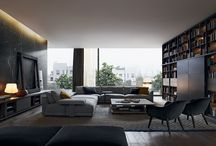 Unexpected contrast / The exclusive combination of different elements to shape a sophisticated atmosphere