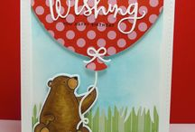 Cards - MFT / Birthday Bears