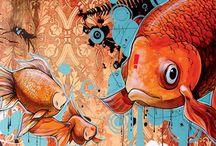 animal art for yr 11