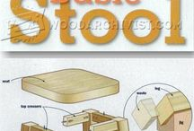 Stool woodworking