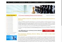 USA eCommerce Marketing Director Email Addresses / http://www.clevelexecuitves.com/ecommerce-marketing-directors-email-addresses.php Roll b2b campaigns smoothly with the email list of E-Commerce Marketing Directors from C-Level Execuitves. Make sales and profits through targeted campaigns.