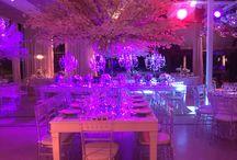 Boda elegante / Elegancia, flores, centros de mesa. Boda .Decoracion. Luxury