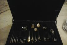 'All great change begins at the dinner table.' / Whether you're inviting your friends for a sumptuous meal or having a formal dinner, you take out your best dinner set. But what we often neglect is, the cutlery. Now, no more. With this beautiful cutlery set, be dinner ready, all the time.