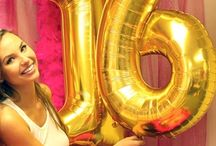 Sweet 16 Party Ideas / Sweet Sixteen birthdays! Find everything for you sweet 16 party here!