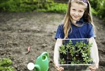 Gardening Ideas for Kids / See these great ideas for gardening with your kids!
