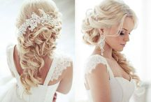 Wedding Hair ~ Beautiful / Amazing hairstyle ideas for your wedding day, short or long, blonde or dark!