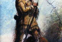 THE ROCKY MOUNTAIN FUR TRADE, 1824-1840 / Things of the mountain man and fur trade era in the Rocky Mountains from 1824-1840 / by Steve Murdock