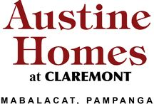 Austine Homes at Claremont / Enjoy city comforts in a peaceful community at Austine Homes, a residential development located within the Claremont township in Bgy. Sta. Maria, Mabalacat, Pampanga.  Here, you can wake up to a fresh air and breathtaking views of Mount Arayat every single day.