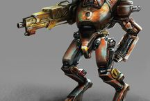 Mech and props / A library of limpidfrog designs of mechanical and props artworks