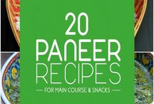 Paneer (Cottage cheese) recipes