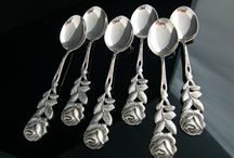 decorated teaspoons