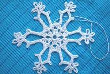 Horgolt hópehely