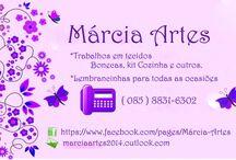 Marcia Arte's / Artes em tecido