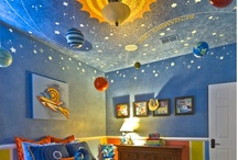 Shoot for the Moon / Want your child's room to look like a scene from Apollo 13? Check out this board to gather some ideas for your outer space adventure!