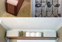 Bathroom storage hacks