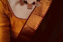 necklace n sarees
