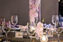 Radiant Orchid / Using Radiant Orchid for table top design